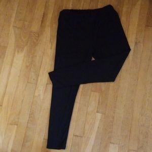 LulaRoe Black TC Leggings